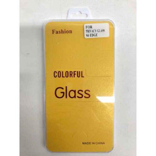 Panzerglas Fashion for Privacy Glass SAM S6 Edge RETAIL