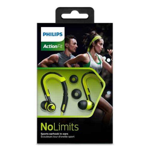 Philips ActionFit NoLimits In-Ear Headphones SHQ3400CL