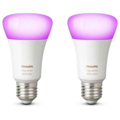 Philips Hue White & Color Dual Pack E27