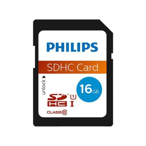 Philips SDHC 16GB CL10 UHS-I 80mb