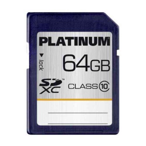 Platinum SDXC 64GB CL10 Retail
