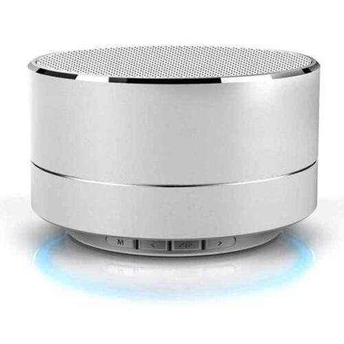 Reekin Marlin Bluetooth Speaker with Speakerphone (Silver)