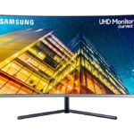 Samsung LCD U32R594CWU 32 black 4K - LU32R594CWUXZG