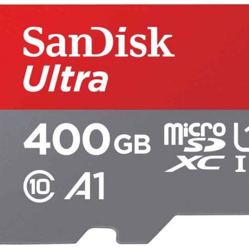 SanDisk ULTRA 400GB MicroSDXC CL10 SDSQUAR-400G-GN6MA