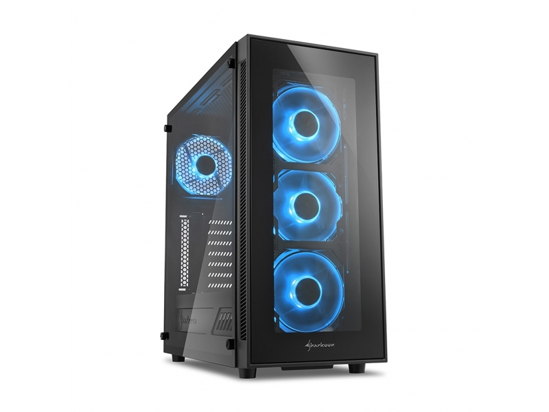 Sharkoon PC- Gehäuse TG5 Blue 4044951020584
