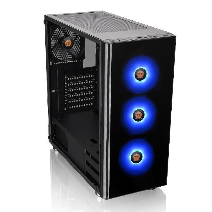 Thermaltake PC- Gehäuse V200 TG RGB  CA-1K8-00M1WN-01