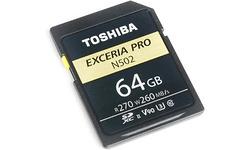 Toshiba SD-Card N502 64GB THN-N502G0640E6