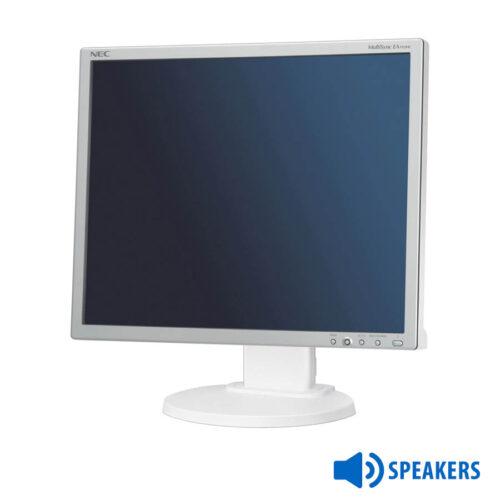 "Used Monitor (A-)EA193MI TFT/NEC/19""/1280x1024/White/w/Speakers/VGA&DVI-D&DP"