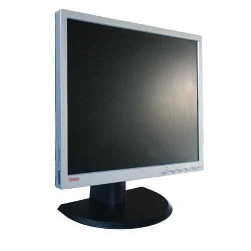 """Used Monitor L1900pA TFT/Lenovo/19""""/1280x1024/Silver/D-SUB & DVI-D"""