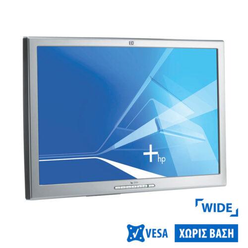 "Used Monitor L2335 TFT/HP/23""/1920x1200/Wide/Silver/Black/No Stand/D-SUB & DVI-D"