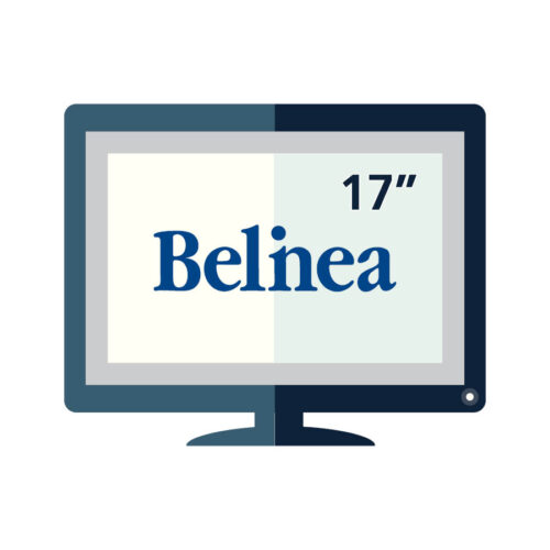 "Used Monitor TFT/Belinea/17""/1280x1024/Silver or Black/VGA"