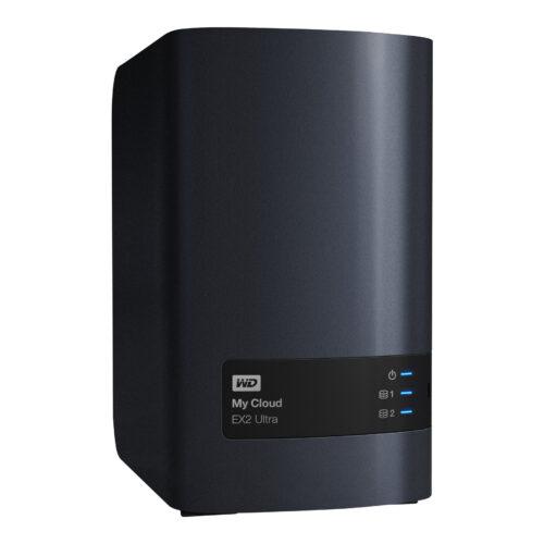 WD NAS Server 6TB My Cloud EX2 Ultra WDBVBZ0060JCH-EESN