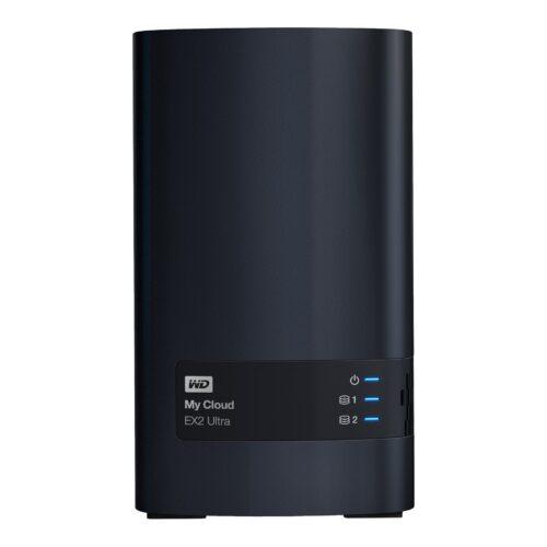 WD NAS Server 8TB My Cloud EX2 Ultra WDBVBZ0080JCH-EESN