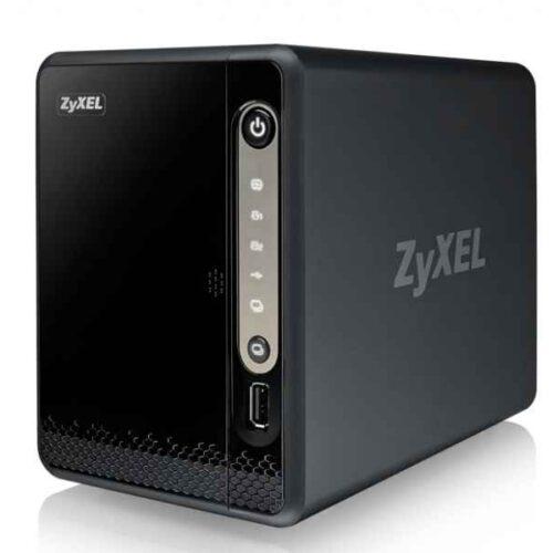 ZyXEL Ethernet LAN Mini Tower Black NAS NAS326-EU0101F