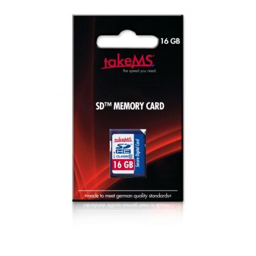 takeM SSD Card 16GB  SDHC (Class10) Retail 88637